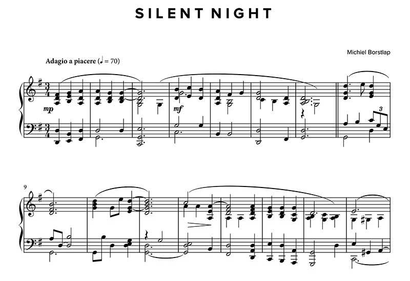 Michiel Borstlap - Silent Night (download)