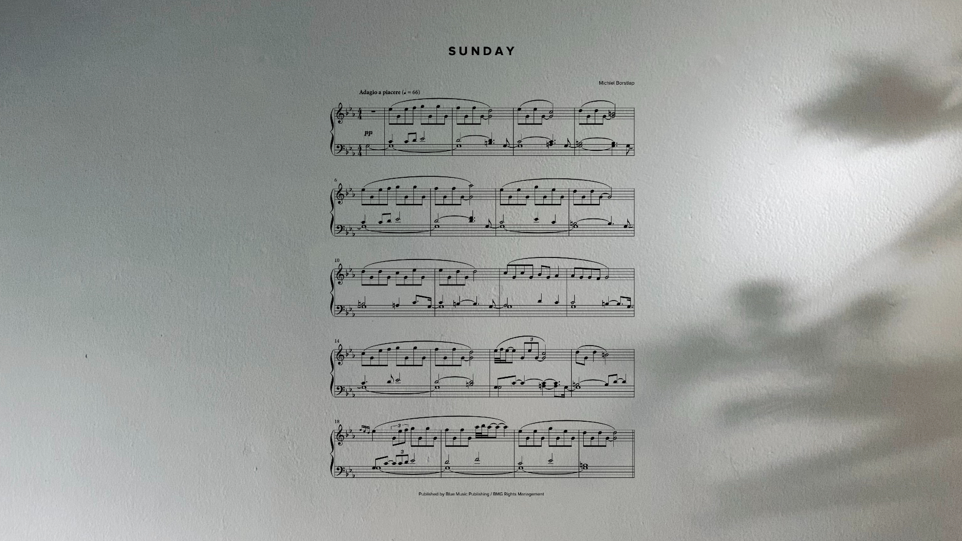 Michiel Borstlap - Sunday (download)