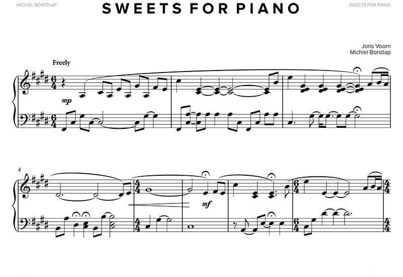 - Michiel Borstlap & Joris Voorn - Sweets for Piano (download)