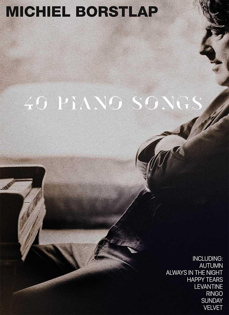 Michiel Borstlap - 40 PIANO SONGS (download)