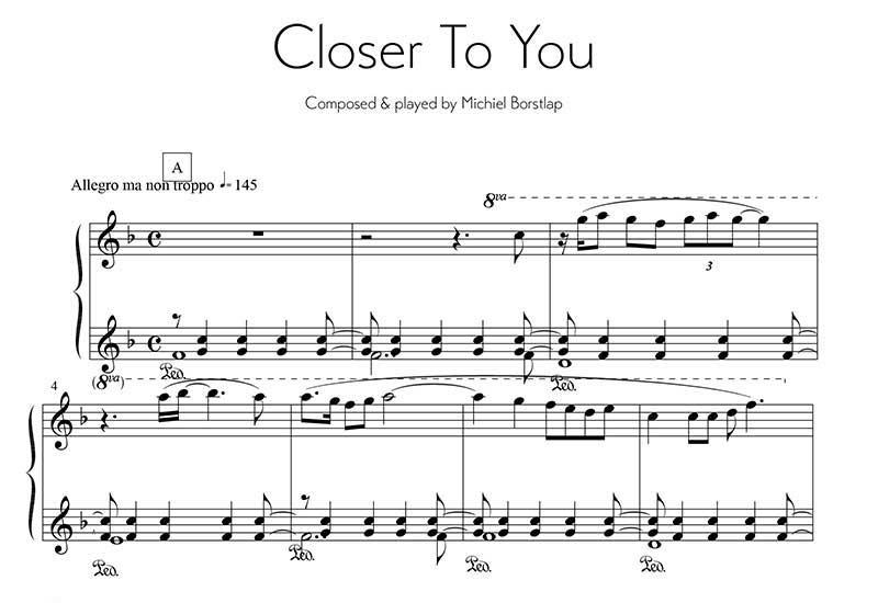 Michiel Borstlap - Closer to you (download)