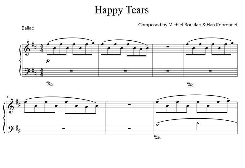 Michiel Borstlap - Happy Tears (download)
