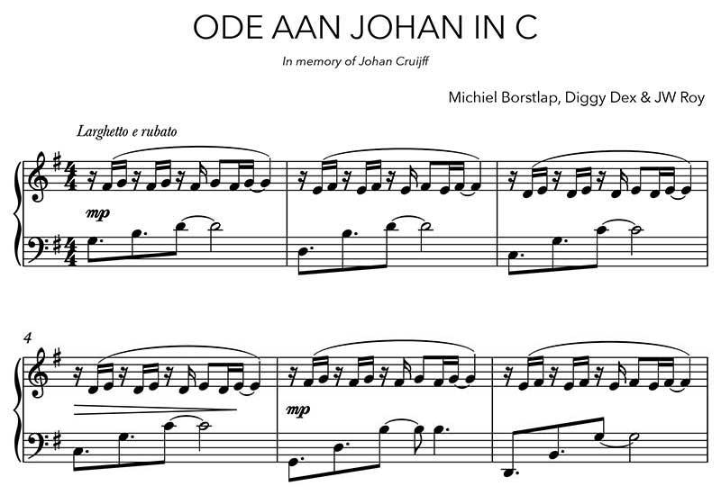 Michiel Borstlap - Ode aan Johan in C (download)