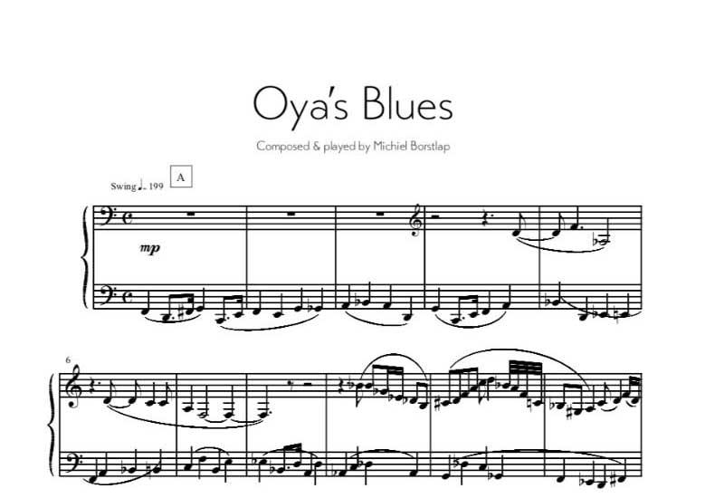 Michiel Borstlap - Oya's Blues (download)