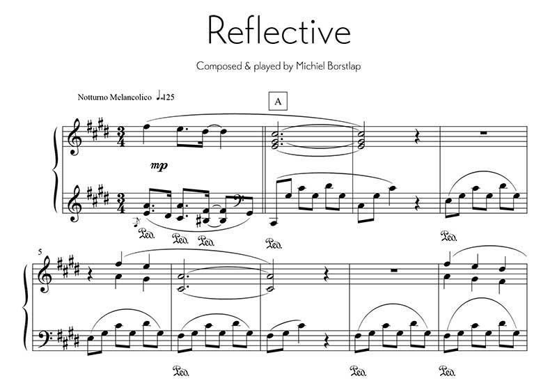 Michiel Borstlap - Prelude in C# minor Reflective (download)