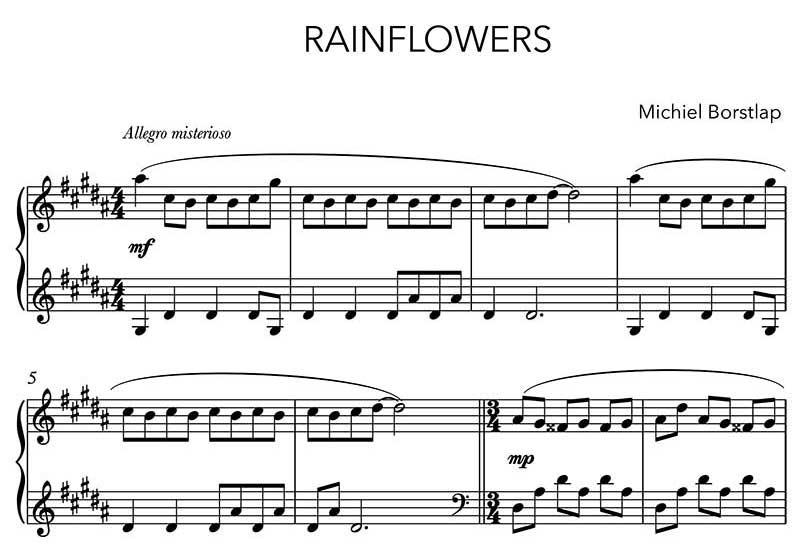 Michiel Borstlap - Rainflowers (download)