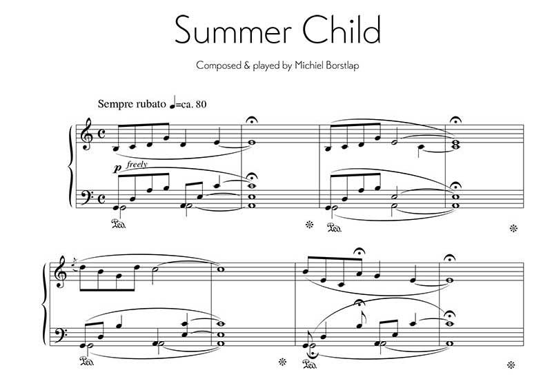 Michiel Borstlap - Summer Child (download)